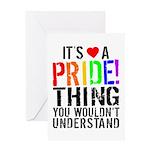 Pride Thing Greeting Card