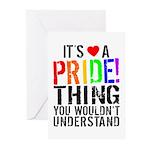Pride Thing Greeting Cards (Pk of 10)