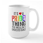 Pride Thing Large Mug