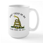 Don't Tread On Me Large Mug