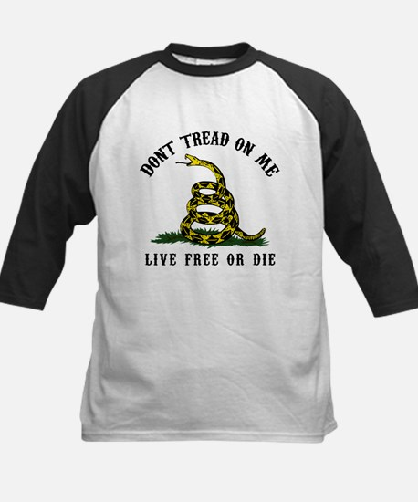 Don't Tread On Me Kids Baseball Jersey