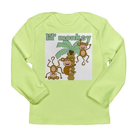 Lil' Monkey Long Sleeve Infant T-Shirt