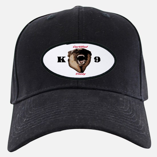 RED CK9D with dog Baseball Hat