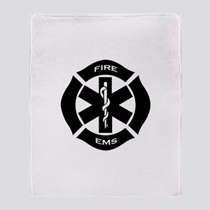 Fire & EMS Throw Blanket