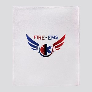 Flying Fire & EMS Throw Blanket