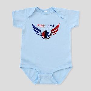 Flying Fire & EMS Infant Bodysuit