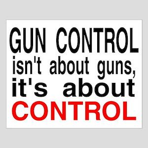 GUN CONTROL Small Poster