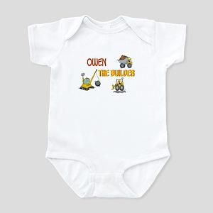 Owen the Builder Infant Bodysuit