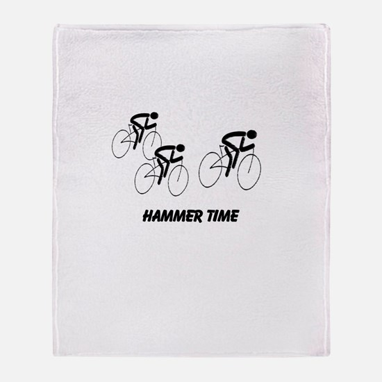 Hammer Time Throw Blanket
