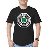 Dharma Lucky Men's Fitted T-Shirt (dark)