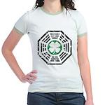 Dharma Lucky Jr. Ringer T-Shirt