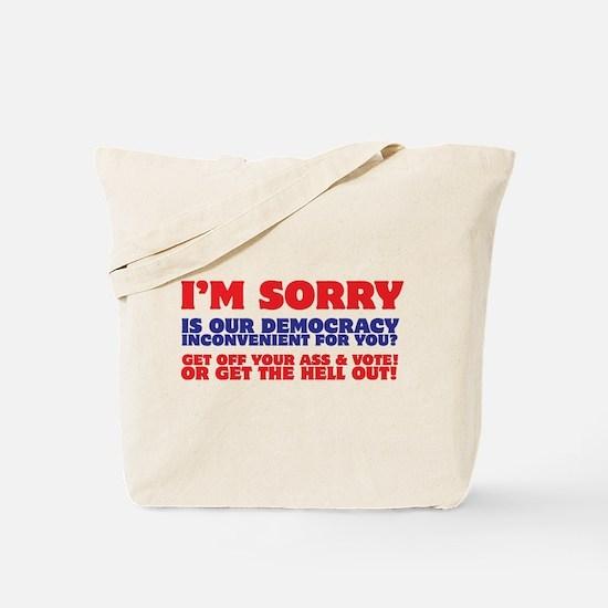 Vote Damnit! Tote Bag