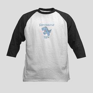 Samosaurus Rex Kids Baseball Jersey
