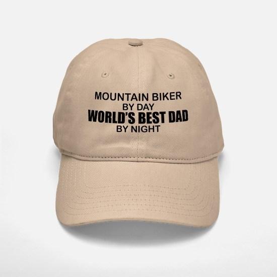 World's Greatest Dad - Mountain Biker Baseball Baseball Cap