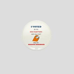 Orange Boehner Mini Button