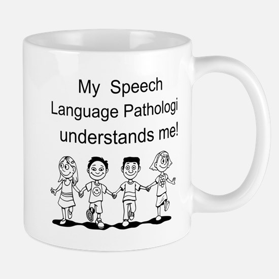 My SLP Understands Me Mugs