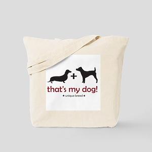 Doxie/Terrier Tote Bag