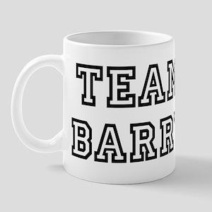 Team Barry Mug