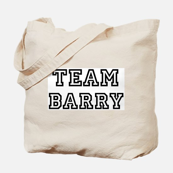 Team Barry Tote Bag