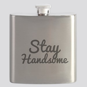 Stay Handsome Flask