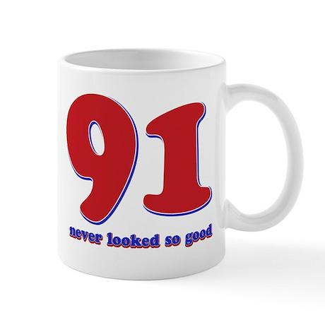 91 years never looked so good Mug