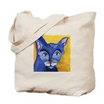 CAT 5 Ringing in the Blues Tote Bag