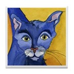 CAT 5 Ringing in the Blues Tile Coaster