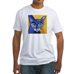 CAT 5 Ringing in the Blues Fitted T-Shirt