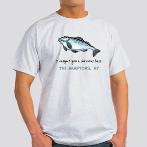 Hamptons Bass Ash Grey T-Shirt