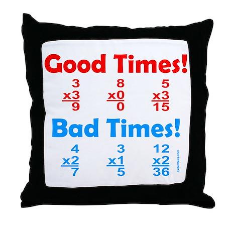 MATH/MATHEMATICS Throw Pillow