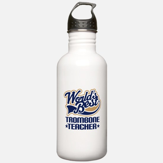 Trombone Teacher Water Bottle