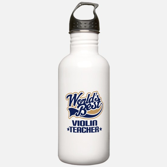 Violin Teacher Water Bottle
