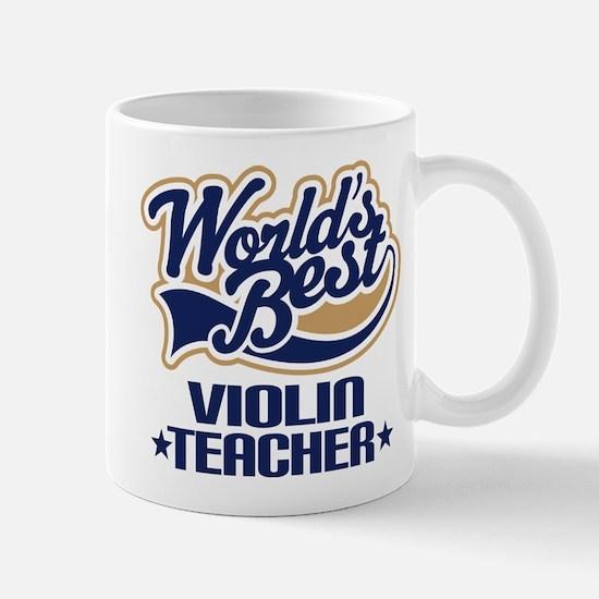Violin Teacher Mug