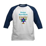 Happy Hanukkah Kids Baseball Jersey