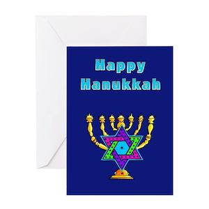 Funny hanukkah greeting cards cafepress m4hsunfo