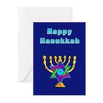 Happy Hanukkah Greeting Cards (Pk of 10)