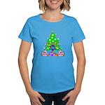 Christmas and Hanukkah Women's Dark T-Shirt