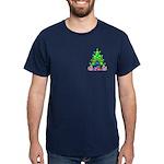 Christmas and Hanukkah Dark T-Shirt