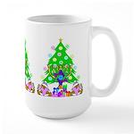 Christmas and Hanukkah Large Mug