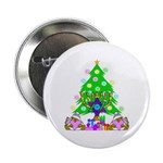 """Christmas and Hanukkah 2.25"""" Button (100 pack"""