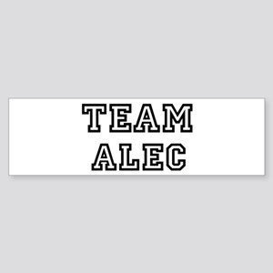 Team Alec Bumper Sticker
