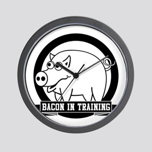 Bacon In Training Wall Clock