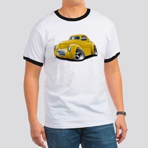 1941 Willys Yellow Car Ringer T