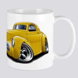 1941 Willys Yellow Car Mug
