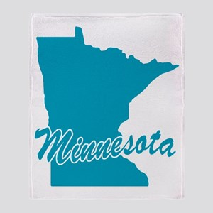 State Minnesota Throw Blanket
