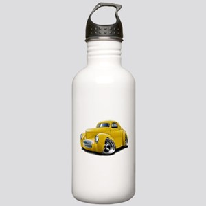 1941 Willys Yellow Car Stainless Water Bottle 1.0L