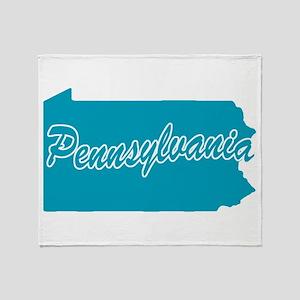 State Pennsylvania Throw Blanket