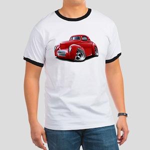 1941 Willys Red Car Ringer T
