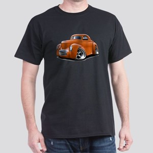 1941 Willys Orange Car Dark T-Shirt