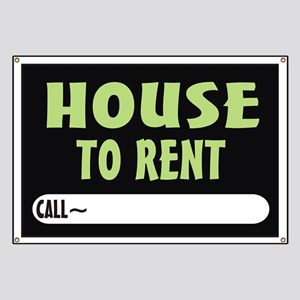 House to rent Banner